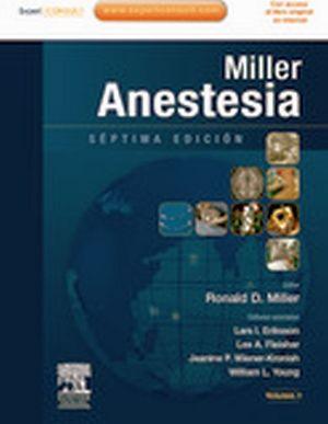 ANESTESIA 7ED. 2VOLS.+EXPERT CONSULT