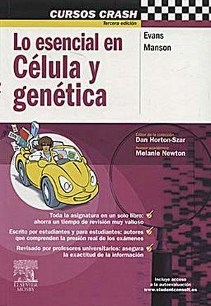 MCC: LO ESENCIAL EN CELULA Y GENETICA 3ED.