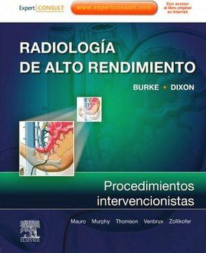 RADIOLOGIA DE ALTO RENDIMIENTO PROCEDIMIENTOS
