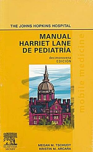 MANUAL HARRIET LANE DE PEDIATRIA 19ED.