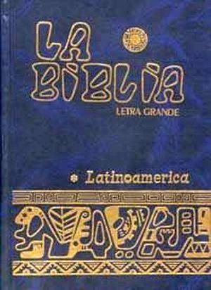 BIBLIA LATINOAMERICANA LETRA GRANDE (PASTA DURA)