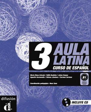 AULA LATINA 3 (LIBRO & CD) CURSO DE ESPAÑOL