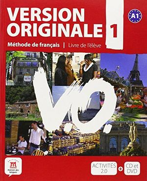 VERSION ORIGINALE 1 A1 LIBRO DEL ALUMNO+CD+DVD