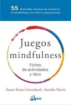 JUEGOS MINDFULNESS  (LIBRO Y 55 FICHAS)