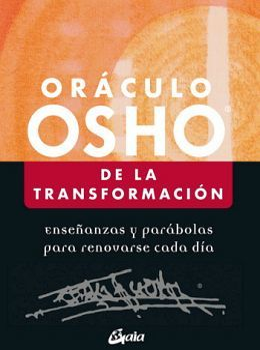 ORACULO OSHO DE LA TRANSFORMACION -ENSEÑANZAS- (C/60 CARTAS)