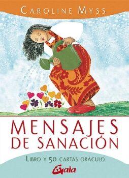 MENSAJES DE SANACION                      (C/LIBRO/50 CARTAS)