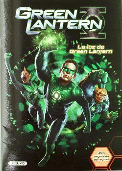 GRREN LANTERN -LA LUZ DE GREEN LANTERN-   (C/PEGATINAS)