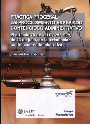 PRACTICA PROCESAL DEL PROCEDIMIENTO ABREVIADO CONTEN. (1ED. 2014)