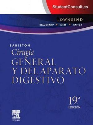 SABISTON CIRUGIA GENERAL Y DEL APARATO DIGESTIVO 19ED