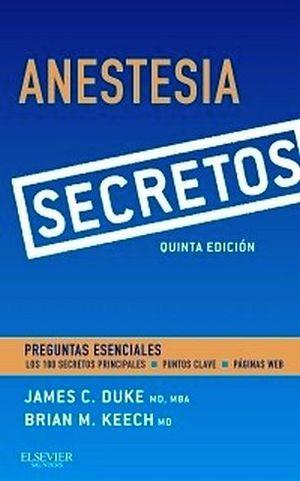 SECRETOS DE ANESTESIA 5ED.