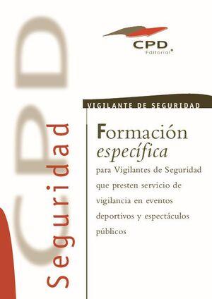 VIGILANCIA EN EVENTOS DEPORTIVOS Y ESPECTACULOS PUBLICOS AP-12