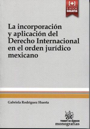 INCORPORACION Y APLICACION DE DERECHO INTERNACIONAL EN EL ORDEN J