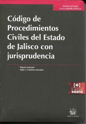 CODIGO DE PROCED. CIVILES DEL ESTADO DE JALISCO C/ JURISPRUDENCIA