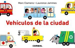 VEHICULOS DE LA CIUDAD                    (LIBRO POP-UP)