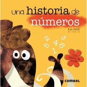 UNA HISTORIA DE NUMEROS -CON PIEZAS DE PUZLE-