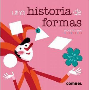 UNA HISTORIA DE FORMAS -CON PIEZAS DE PUZLE-
