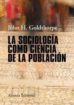 SOCIOLOGIA COMO CIENCIA DE LA POBLACION, LA