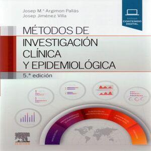 METODOS DE INVESTIGACION CLINICA Y EPIDEMIOLOGICA 5ED.