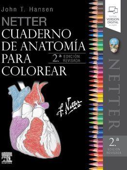 NETTER CUADERNO DE ANATOMIA P/COLOREAR 2ED.REVISADA