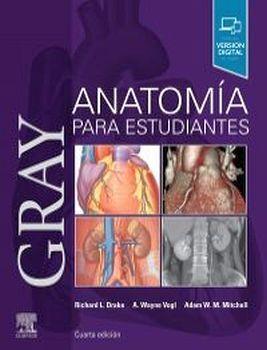 GRAY ANATOMIA PARA ESTUDIANTES 4ED.