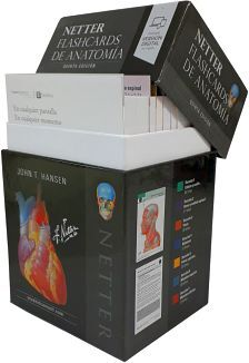 NETTER FLASHCARDS DE ANATOMIA 5ED.