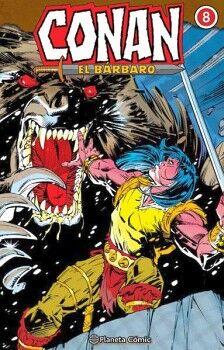 CONAN EL BARBARO VOL.8                    (EMPASTADO)
