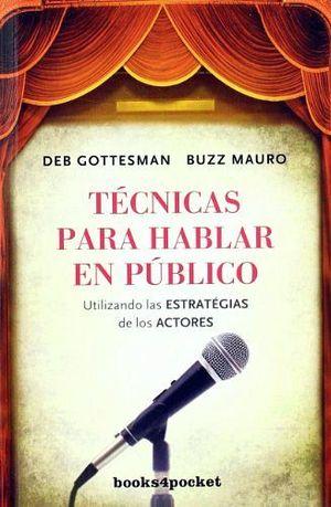TECNICAS PARA HABLAR EN PUBLICO (BOOKS4POCKET)