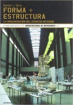 FORMA + ESTRUCTURA -LA ORGANIZACION DEL ESPACIO INTERIOR-
