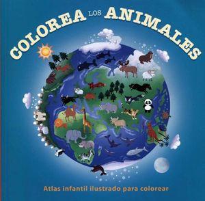 COLOREA LOS ANIMALES (C/CRAYONES)