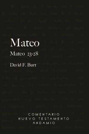MATEO 23-28