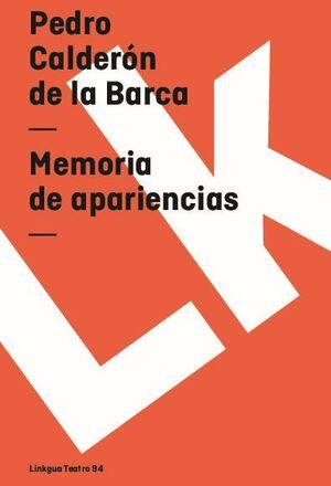 MEMORIAS DE APARIENCIA