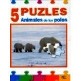 5 PUZZLE ANIMALES DE LOS POLOS