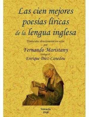 CIEN MEJORES POESIAS LIRICAS DE LA LENGUA INGLESA, LAS