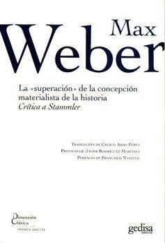 SUPERACION DE LA CONCEPCION MATERIALISTA DE LA HISTORIA, LA