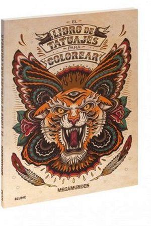 LIBRO DE TATUAJES PARA COLOREAR, EL