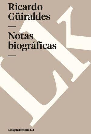 NOTAS BIOGRÁFICAS