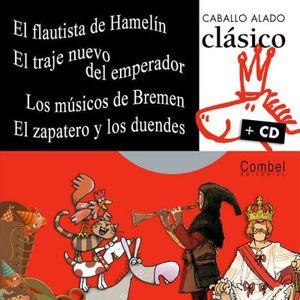 CABALLO ALADO CLASICO C/CD (FLAUTISTA/TRAJE NUEVO/MUSICOS/ZAPATER