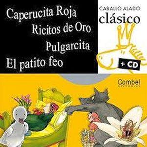 CABALLO ALADO CLASICO C/CD (CAPERUCITA/RICITOS/PULGARCITA/PATITO)