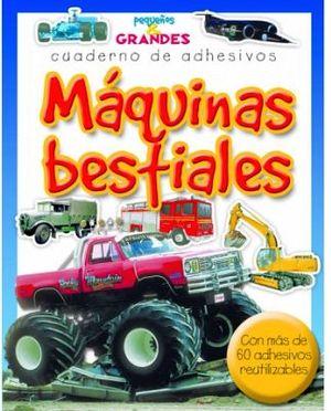 MAQUINAS BESTIALES (CUADERNO DE ADHESIVOS)