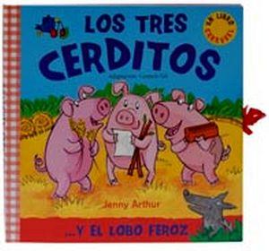 TRES CERDITOS Y EL LOBO FEROZ, LOS (LIBRO CARRUSEL)