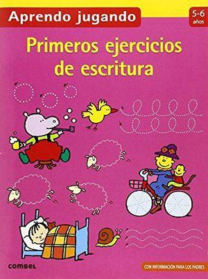 APRENDO JUGANDO -PRIMEROS EJERCICIOS DE ESCRITURA (5-6 AÑOS)-