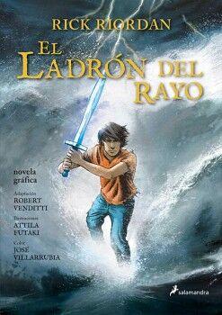 LADRON DEL RAYO, EL -PERCY JACKSON 1- (NOVELA GRAFICA/RUST.)