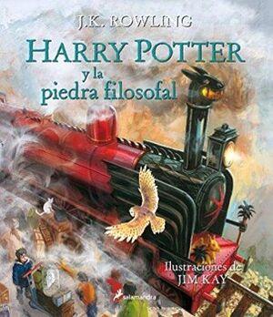 HARRY POTTER Y LA PIEDRA FILOSOFAL        (ED.ILUSTRADA/EMPAST.)