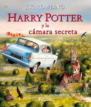 HARRY POTTER Y LA CAMARA SECRETA (ILUSTRADO/EMPASTADO)