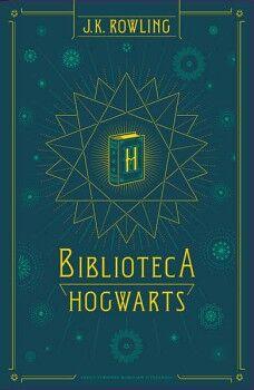 BIBLIOTECA HOGWARTS (3 VOLUMENES QUIDDITCH/ANIMALES F./CUENTOS)