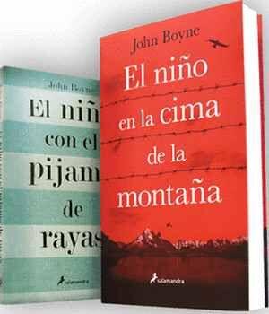 PAQUETE JOHN BOYNE                        (2 VOLUMENES)