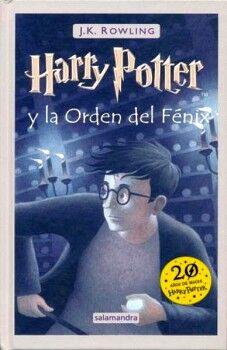 HARRY POTTER Y LA ORDEN DEL FENIX (EMPASTADO/20 AÑOS DE MAGIA)