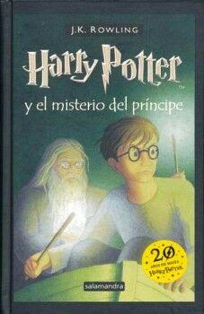 HARRY POTTER Y EL MISTERIO DEL PRINCIPE (EMPASTADO/20 AÑOS DE MA.