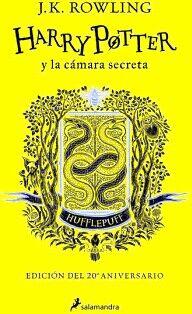 HARRY POTTER Y LA CAMARA SECRETA (HUFFLEPUFF/ED.20 ANIVERSARIO)