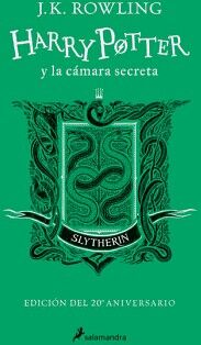 HARRY POTTER Y LA CAMARA SECRETA (SLYTHERIN/ED.20 ANIVERSARIO)